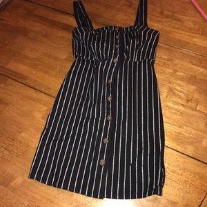 Hollister striped mini dress
